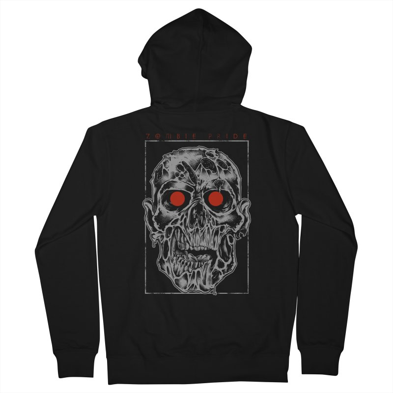Zombie Pride Men's Zip-Up Hoody by victorfelix's Artist Shop