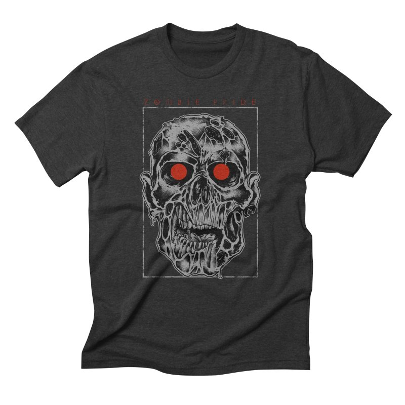 Zombie Pride Men's Triblend T-Shirt by victorfelix's Artist Shop