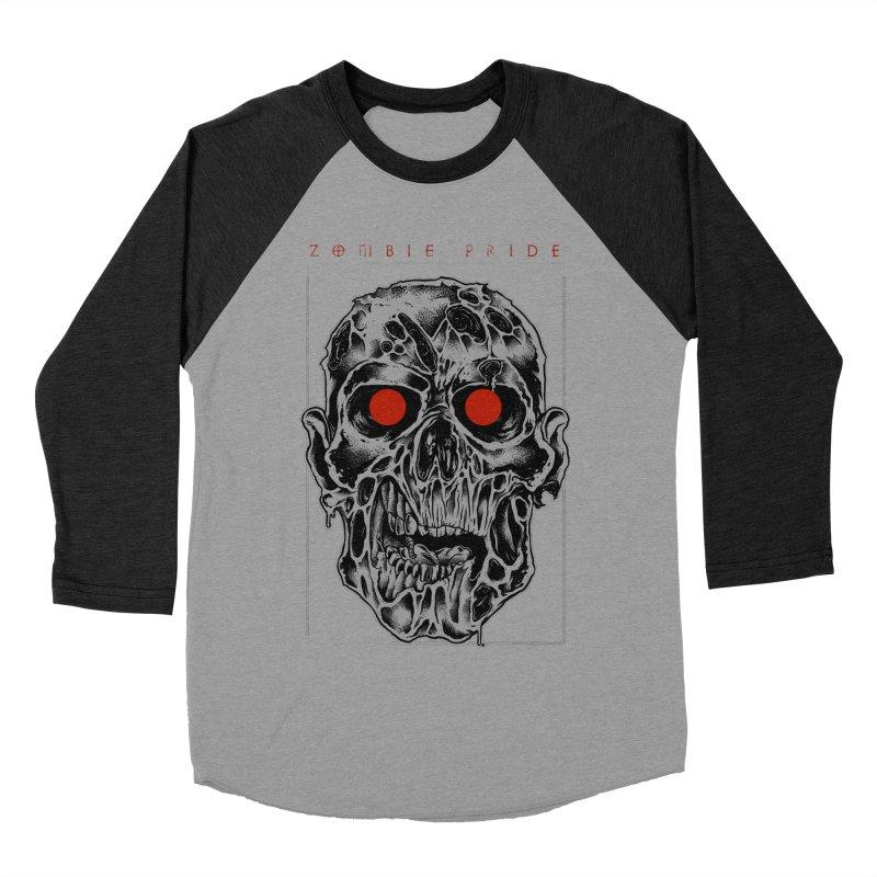 Zombie Pride Men's Baseball Triblend T-Shirt by victorfelix's Artist Shop
