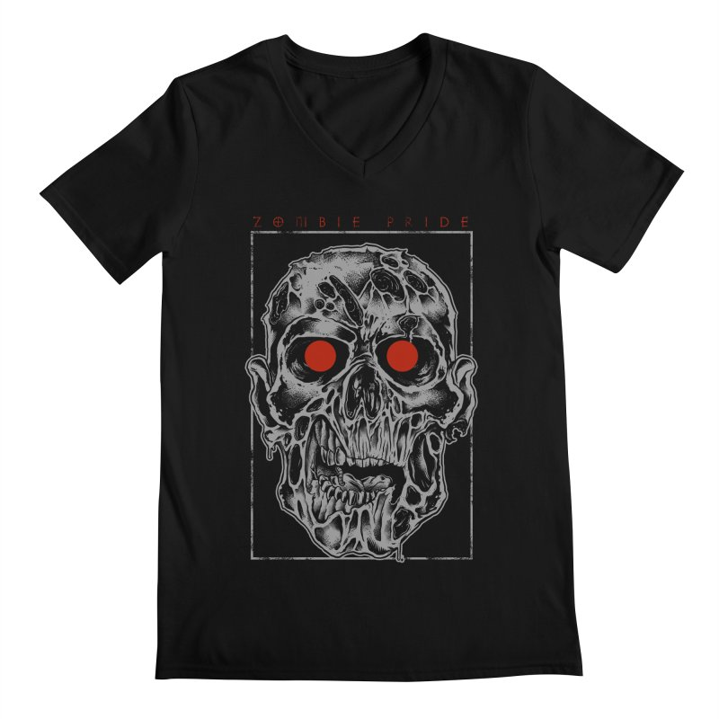 Zombie Pride Men's V-Neck by victorfelix's Artist Shop