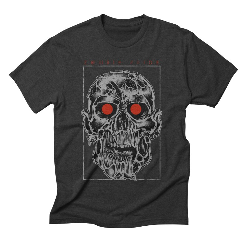 Zombie Pride Men's Triblend T-shirt by victorfelix's Artist Shop