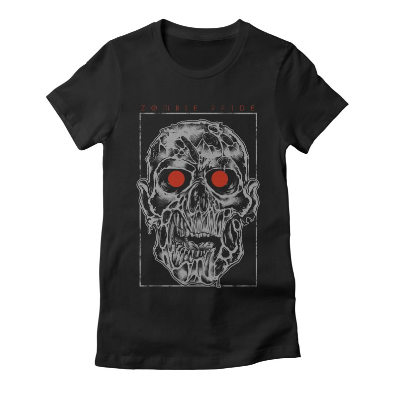 Zombie Pride Women's Fitted T-Shirt by victorfelix's Artist Shop