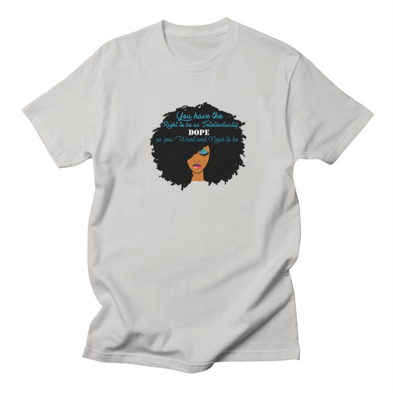 Intellectually DOPE Men's Regular T-Shirt by Victoria Parham's Sassy Quotes Shop