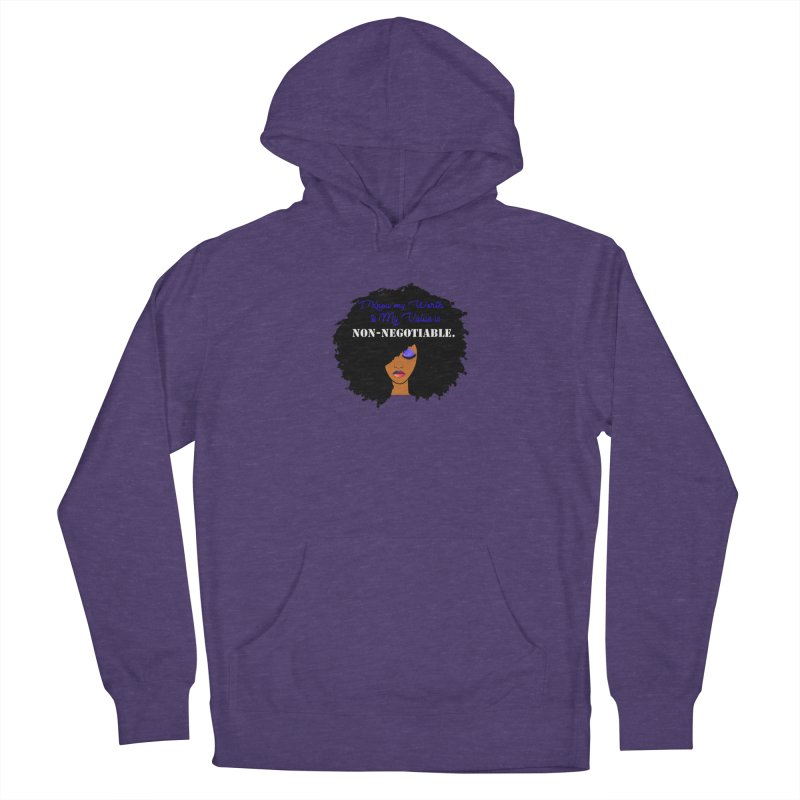 I Know my Value Men's Pullover Hoody by Victoria Parham's Sassy Quotes Shop