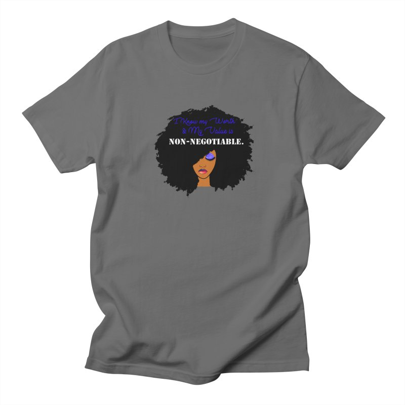 I Know my Value Women's T-Shirt by Victoria Parham's Sassy Quotes Shop