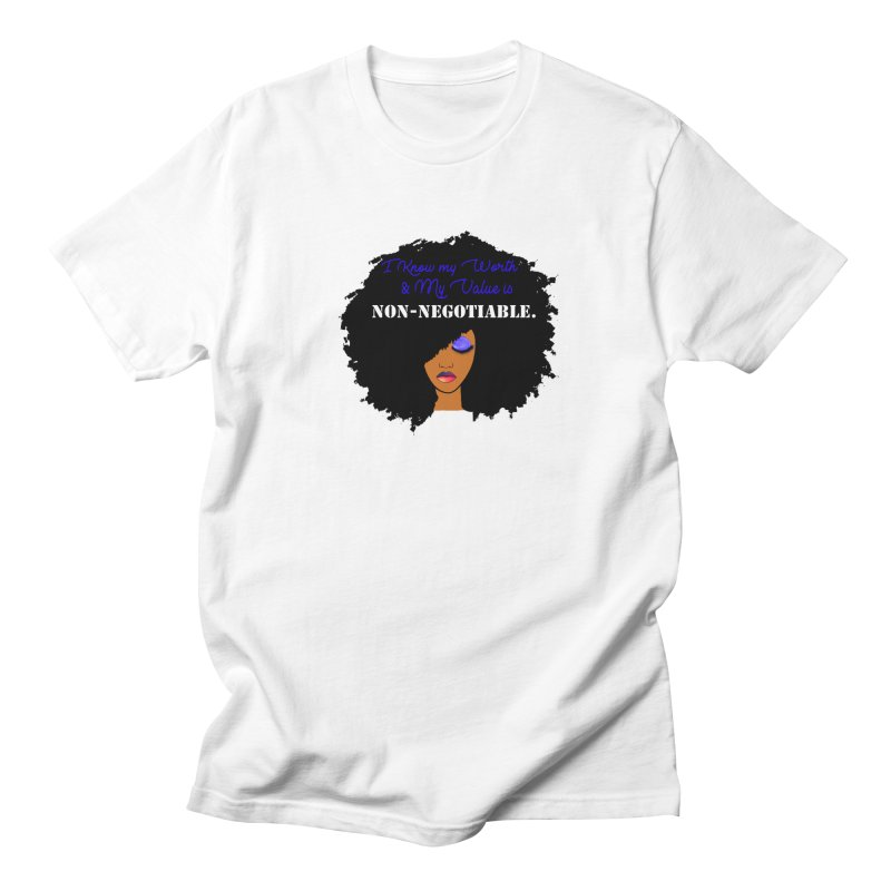 I Know my Value Men's T-Shirt by Victoria Parham's Sassy Quotes Shop
