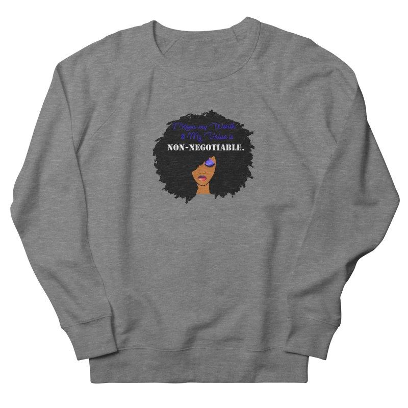 I Know my Value Men's Sweatshirt by Victoria Parham's Sassy Quotes Shop