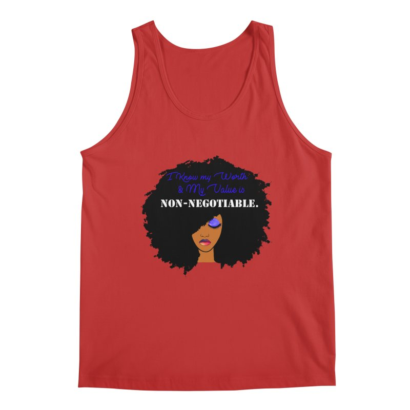 I Know my Value Men's Tank by Victoria Parham's Sassy Quotes Shop