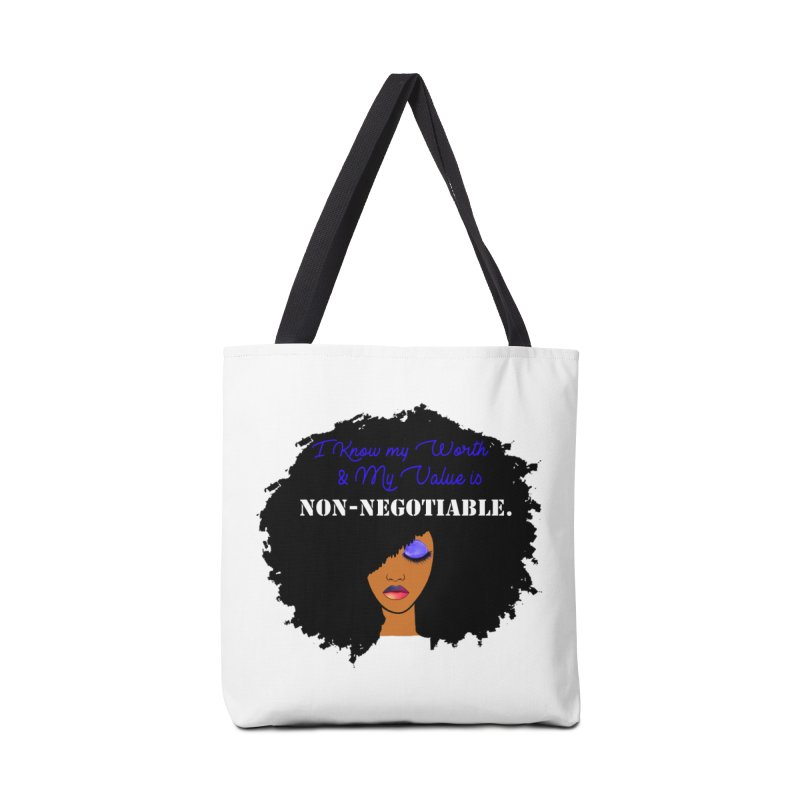 I Know my Value Accessories Bag by Victoria Parham's Sassy Quotes Shop