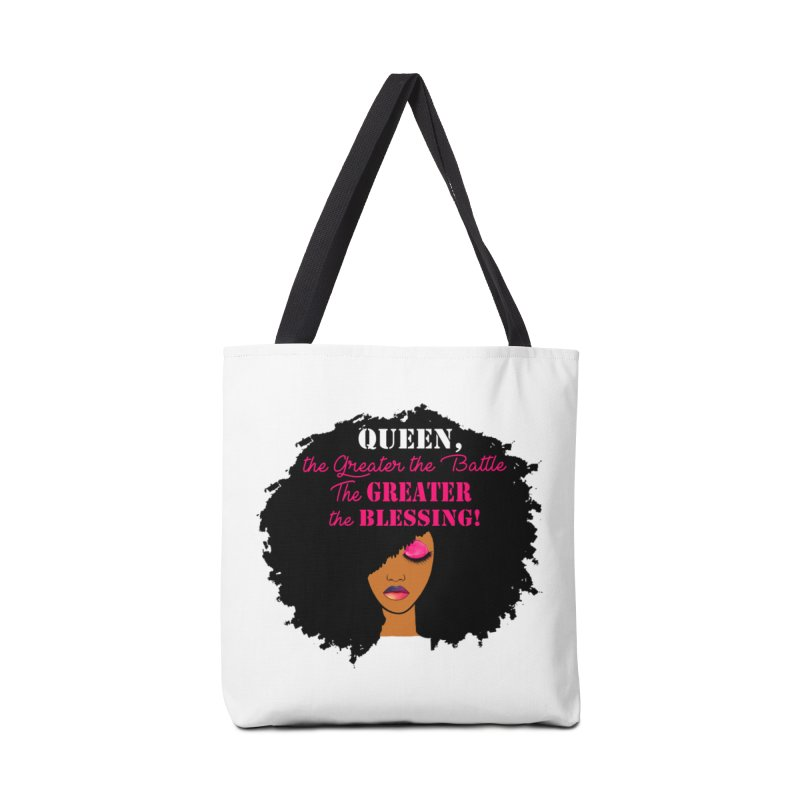 Queen Accessories Tote Bag Bag by Victoria Parham's Sassy Quotes Shop