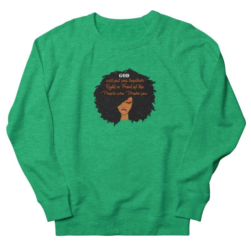 Woman of Faith Women's Sweatshirt by Victoria Parham's Sassy Quotes Shop