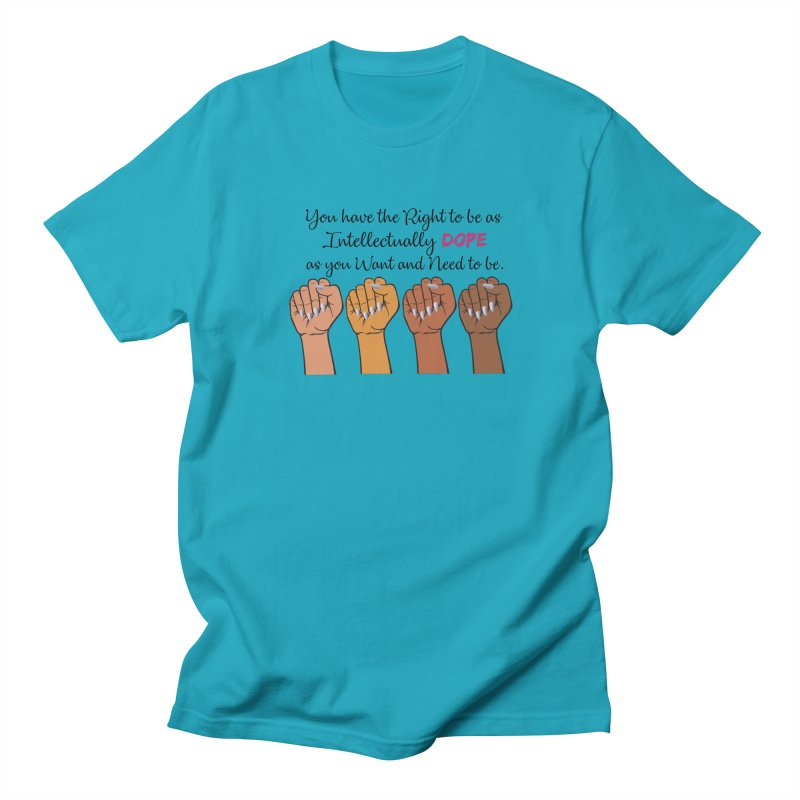 Intellectually DOPE - Melanin Women in Power Women's T-Shirt by Victoria Parham's Sassy Quotes Shop