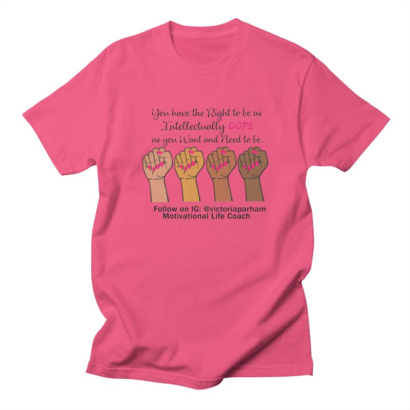 Intellectually DOPE - Melanin Women in Power - Branded Coaching Item Men's T-Shirt by Victoria Parham's Sassy Quotes Shop