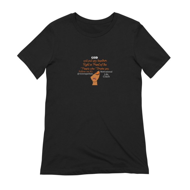 Woman of Faith - Branded Life Coaching item Women's Extra Soft T-Shirt by Victoria Parham's Sassy Quotes Shop