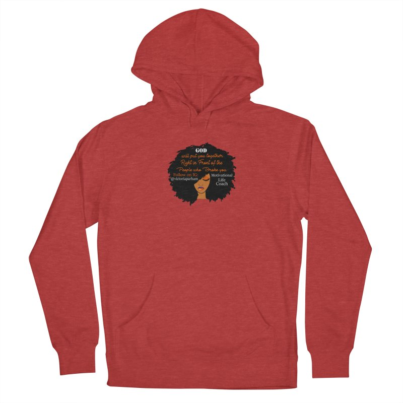 Woman of Faith - Branded Life Coaching item Women's Pullover Hoody by Victoria Parham's Sassy Quotes Shop