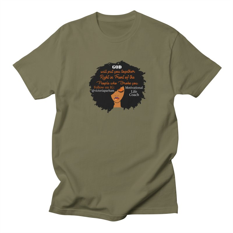 Woman of Faith - Branded Life Coaching item Women's T-Shirt by Victoria Parham's Sassy Quotes Shop