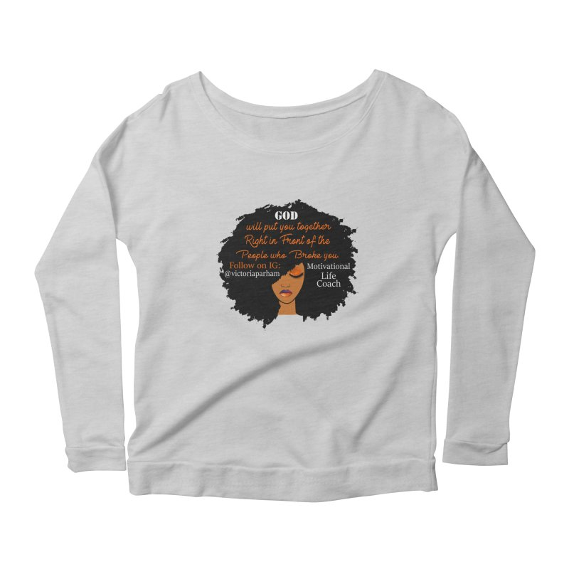 Woman of Faith - Branded Life Coaching item Women's Longsleeve T-Shirt by Victoria Parham's Sassy Quotes Shop