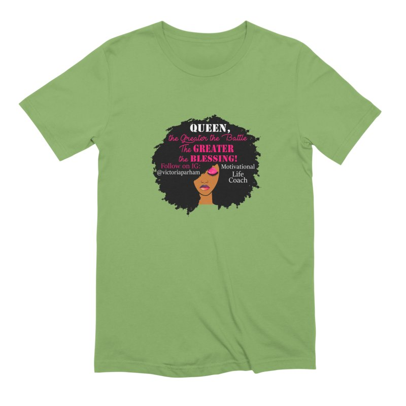 Queen - Branded Life Coaching Item Men's Extra Soft T-Shirt by Victoria Parham's Sassy Quotes Shop