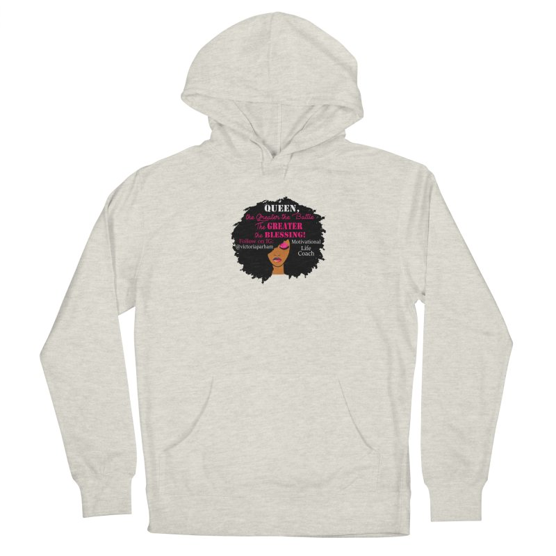 Queen - Branded Life Coaching Item Women's Pullover Hoody by Victoria Parham's Sassy Quotes Shop