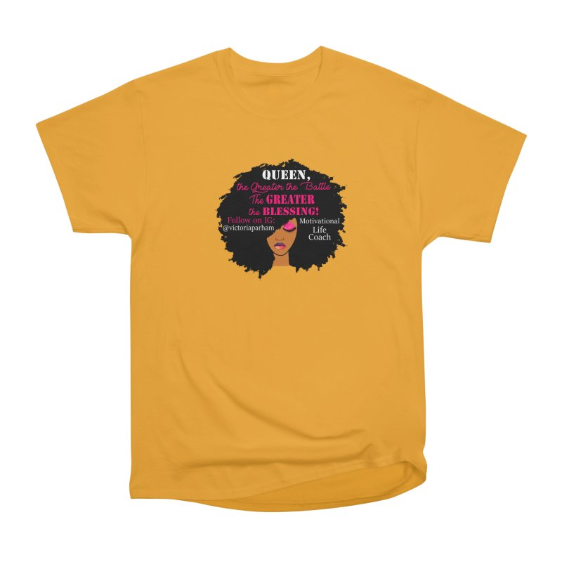 Queen - Branded Life Coaching Item Women's T-Shirt by Victoria Parham's Sassy Quotes Shop