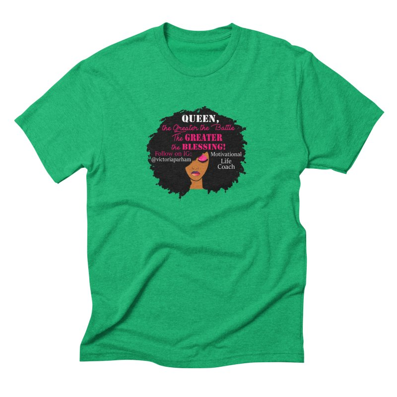 Queen - Branded Life Coaching Item Men's Triblend T-Shirt by Victoria Parham's Sassy Quotes Shop