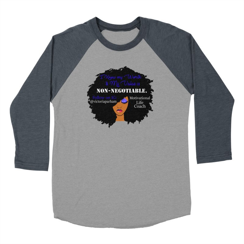 I Know My Value - Branded Life Coaching Item Men's Longsleeve T-Shirt by Victoria Parham's Sassy Quotes Shop