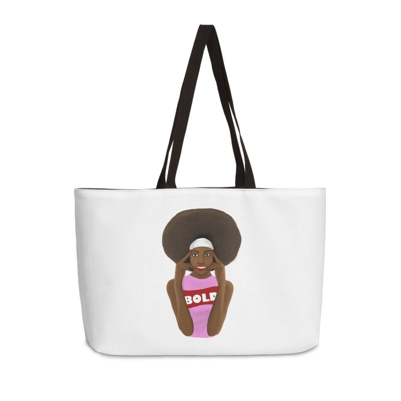 Be Bold Girl Accessories Bag by Victoria Parham's Sassy Quotes Shop
