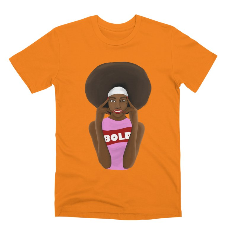 Be Bold Girl Men's Premium T-Shirt by Victoria Parham's Sassy Quotes Shop
