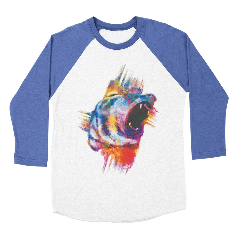 ROAR! Women's Baseball Triblend T-Shirt by victoriuskendrick's Artist Shop