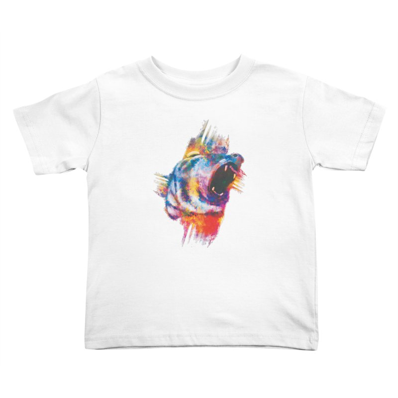 ROAR! Kids Toddler T-Shirt by victoriuskendrick's Artist Shop