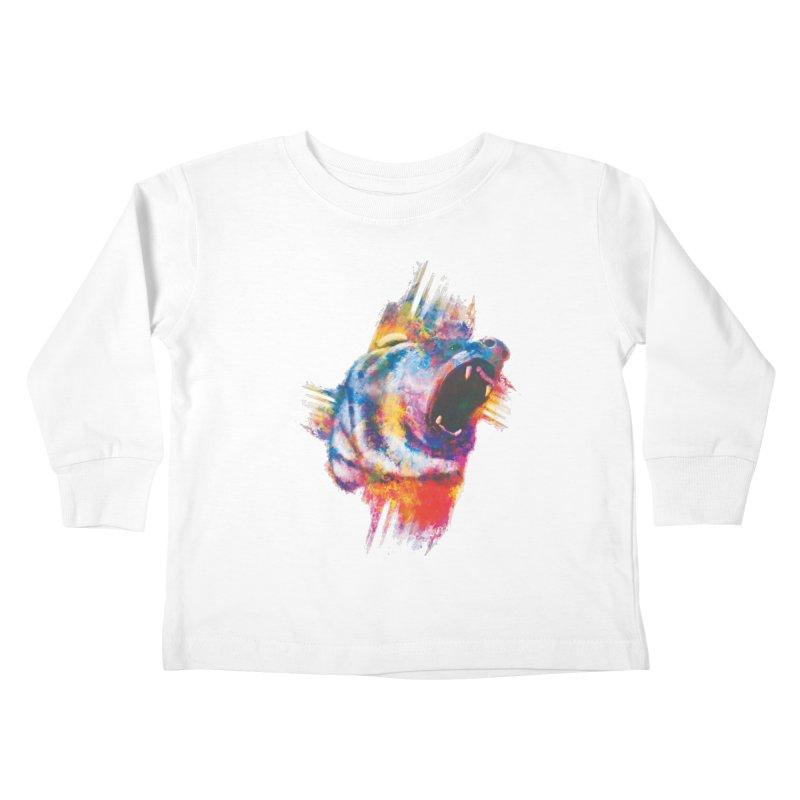 ROAR! Kids Toddler Longsleeve T-Shirt by victoriuskendrick's Artist Shop