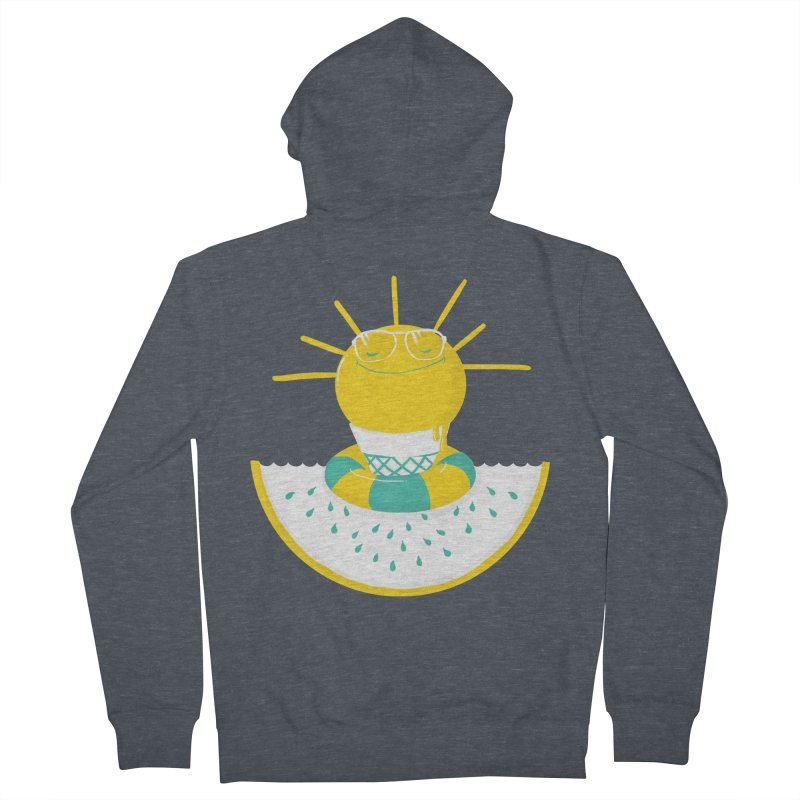 It's All About Summer Men's Zip-Up Hoody by victoriuskendrick's Artist Shop