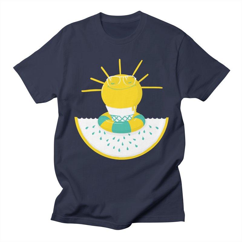 It's All About Summer Men's T-Shirt by victoriuskendrick's Artist Shop