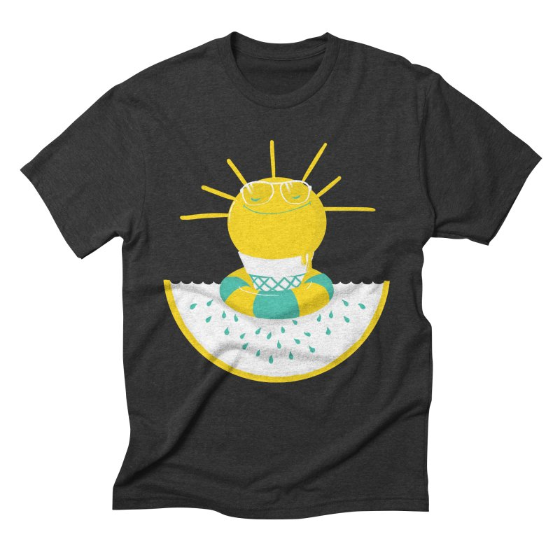 It's All About Summer Men's Triblend T-Shirt by victoriuskendrick's Artist Shop