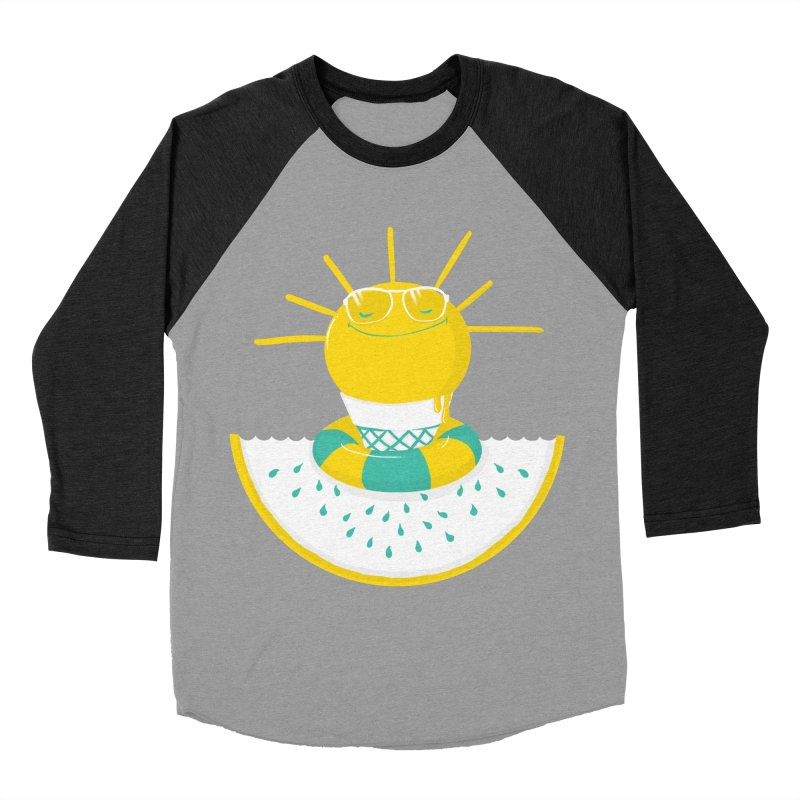 It's All About Summer Men's Baseball Triblend T-Shirt by victoriuskendrick's Artist Shop