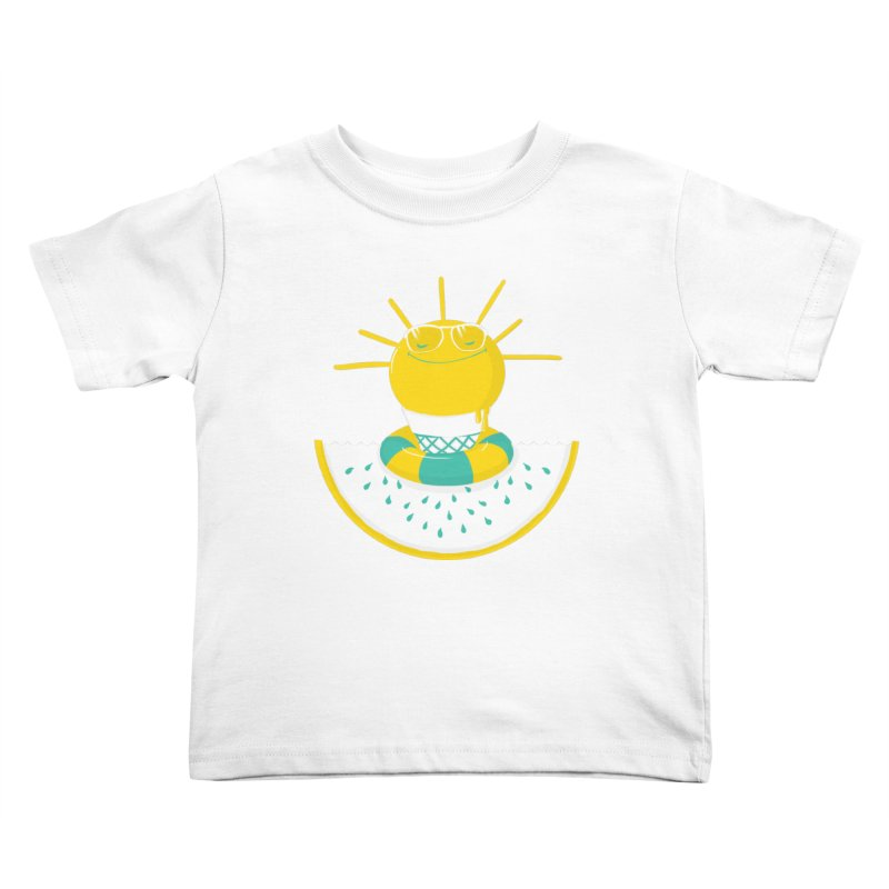 It's All About Summer Kids Toddler T-Shirt by victoriuskendrick's Artist Shop
