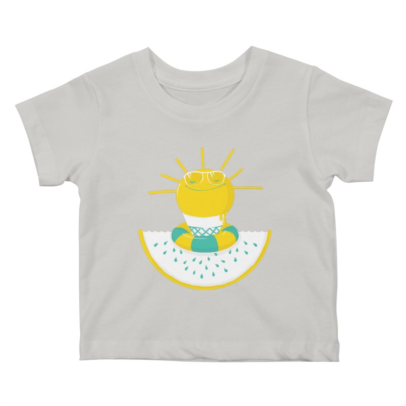 It's All About Summer Kids Baby T-Shirt by victoriuskendrick's Artist Shop