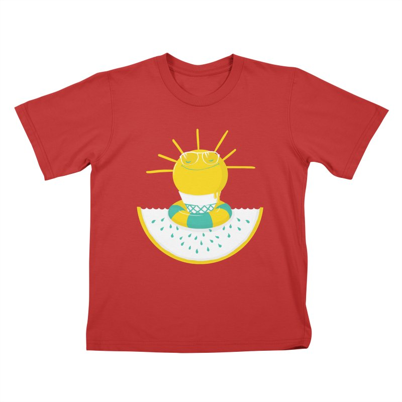 It's All About Summer Kids T-shirt by victoriuskendrick's Artist Shop