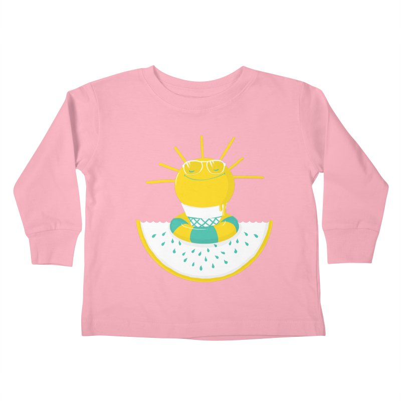 It's All About Summer Kids Toddler Longsleeve T-Shirt by victoriuskendrick's Artist Shop