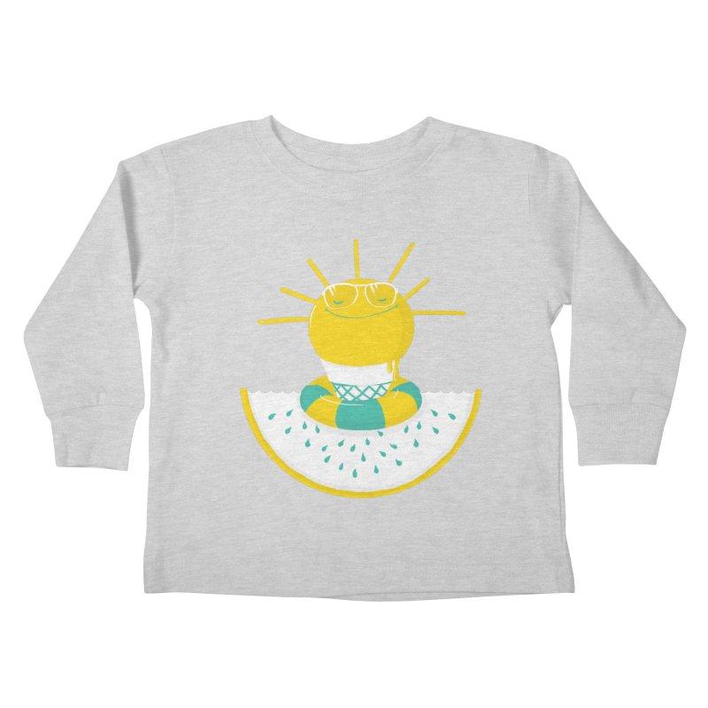It's All About Summer Kids Toddler Longsleeve T-Shirt by victoriuskendrick's Artist Shop