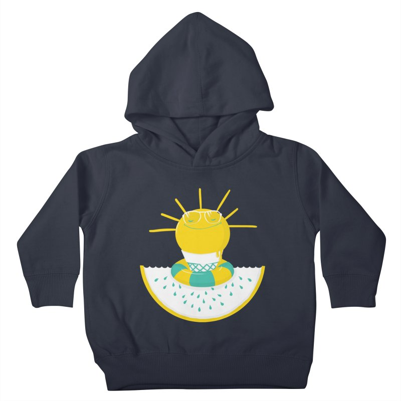 It's All About Summer Kids Toddler Pullover Hoody by victoriuskendrick's Artist Shop