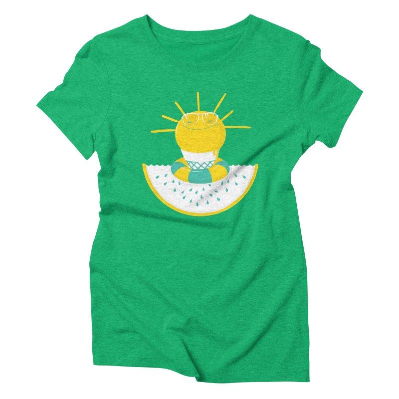 It's All About Summer Women's Triblend T-shirt by victoriuskendrick's Artist Shop