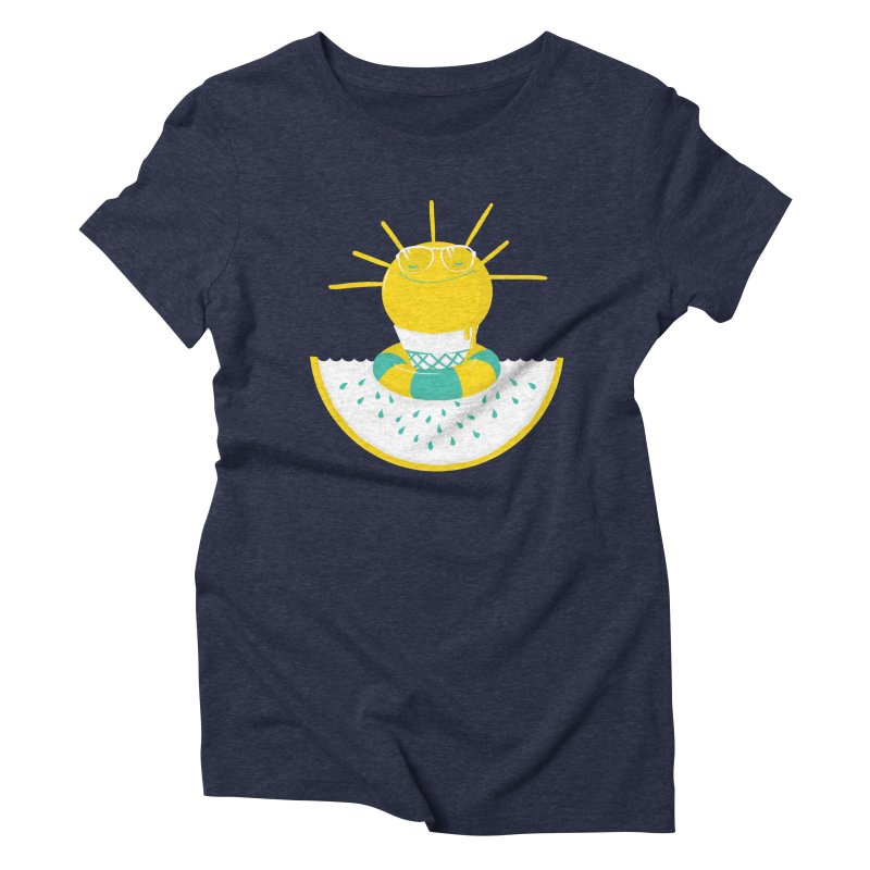It's All About Summer Women's Triblend T-Shirt by victoriuskendrick's Artist Shop