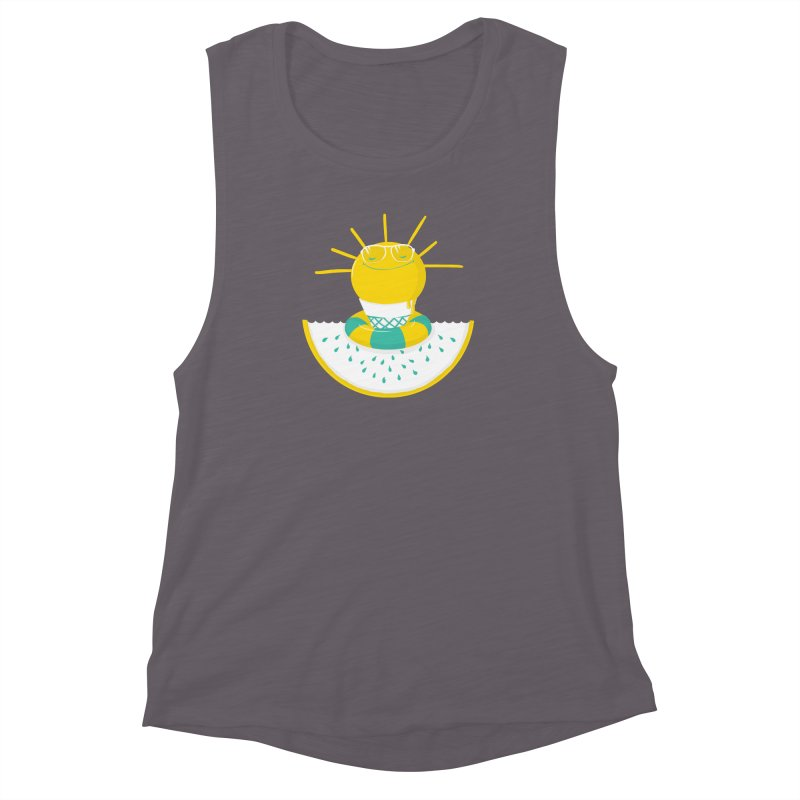 It's All About Summer Women's Muscle Tank by victoriuskendrick's Artist Shop