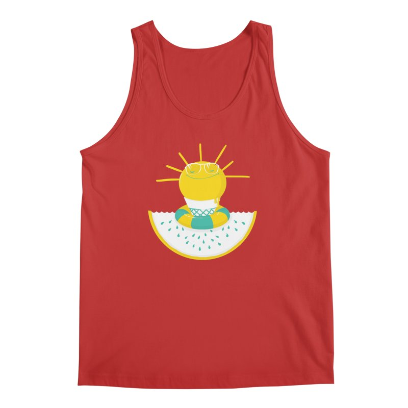 It's All About Summer Men's Tank by victoriuskendrick's Artist Shop