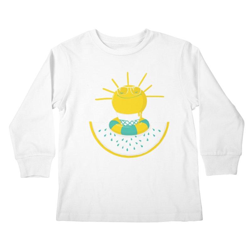 It's All About Summer Kids Longsleeve T-Shirt by victoriuskendrick's Artist Shop