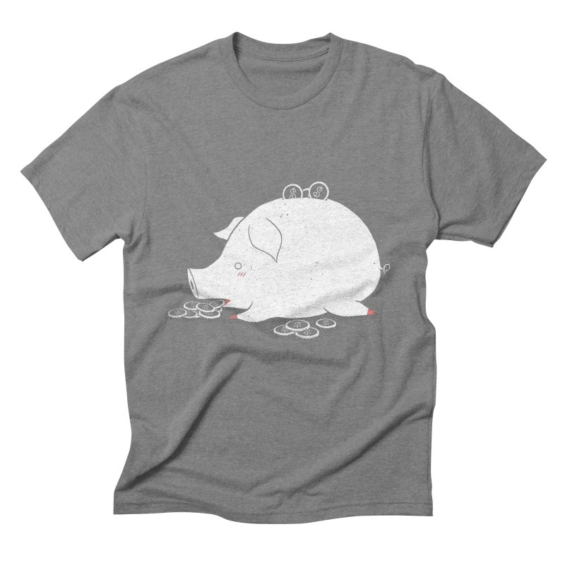 I'M SO FULL Men's Triblend T-Shirt by victoriuskendrick's Artist Shop