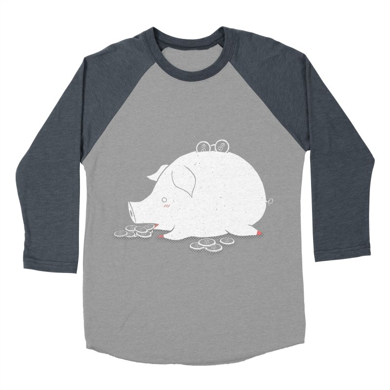 I'M SO FULL Men's Baseball Triblend T-Shirt by victoriuskendrick's Artist Shop
