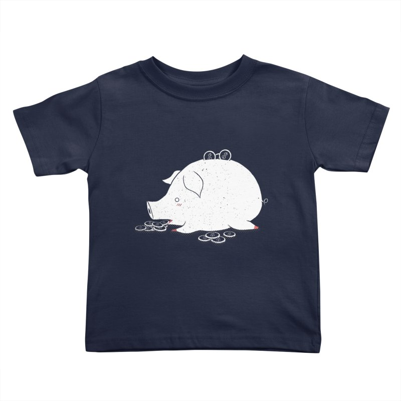 I'M SO FULL Kids Toddler T-Shirt by victoriuskendrick's Artist Shop