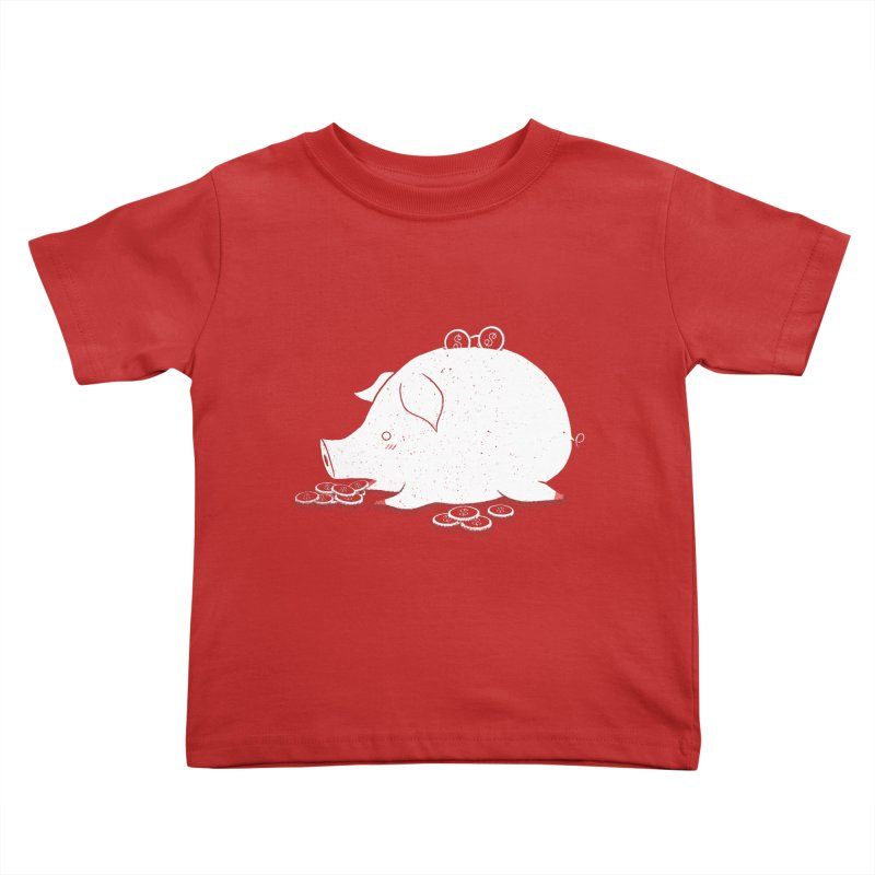 I'M SO FULL Kids Toddler T-Shirt by victoriuskendrick's Artist Shop